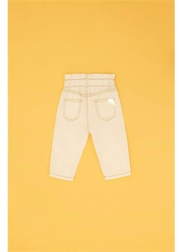 BG Baby Kız Bebek Bej Pantolon  Bej